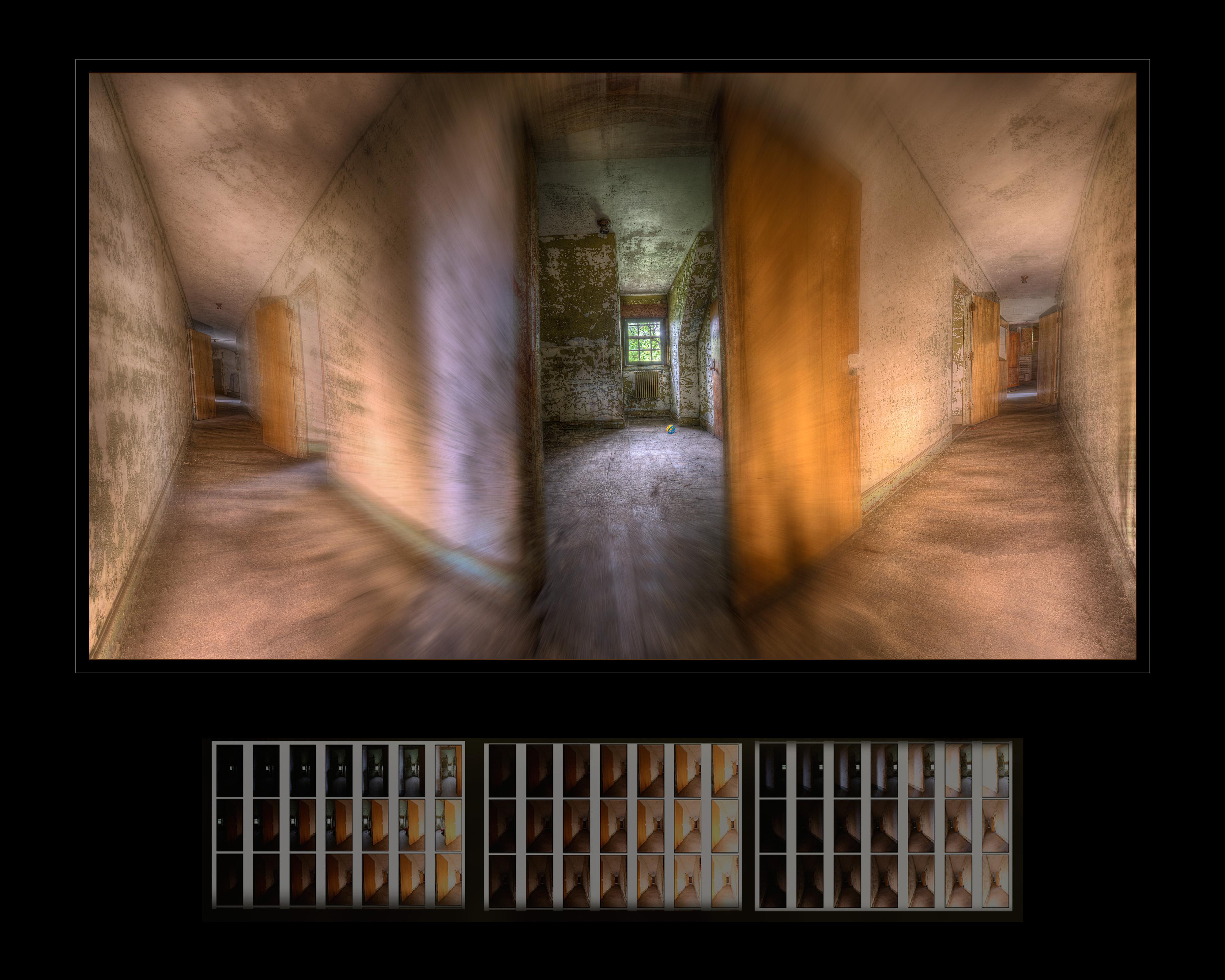 Disoriented at the Insane Asylum